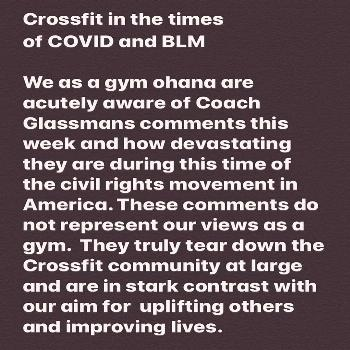CrossFit Waipio on June 07 2020 text that says Crossfit in the ti