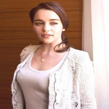 Emilia Clarke on June 07 2020 1 person closeup