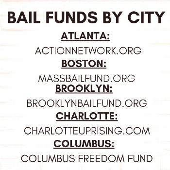 ExtremeBEAUTYMUA on June 03 2020 text that says BAIL FUNDS BY CIT