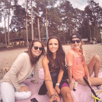 Katerina Pickova on June 09 2020 and ha 4 people tree outdoor and
