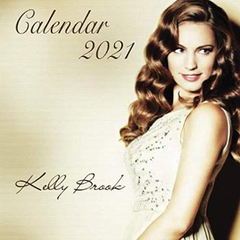 Kelly Brook: Calendar 2021 in mini size 7''x7'' with high