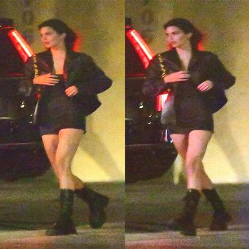 Kendall Nicole Jenner on June 09 2020 and 2 people people standin
