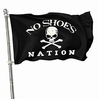 No-Shoes Nation Flag Kenny Chesney 3x5 Ft, Pirate Flag For