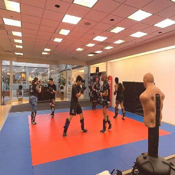 Vero Beach Martial arts on May 31 2020 2 people basketball court