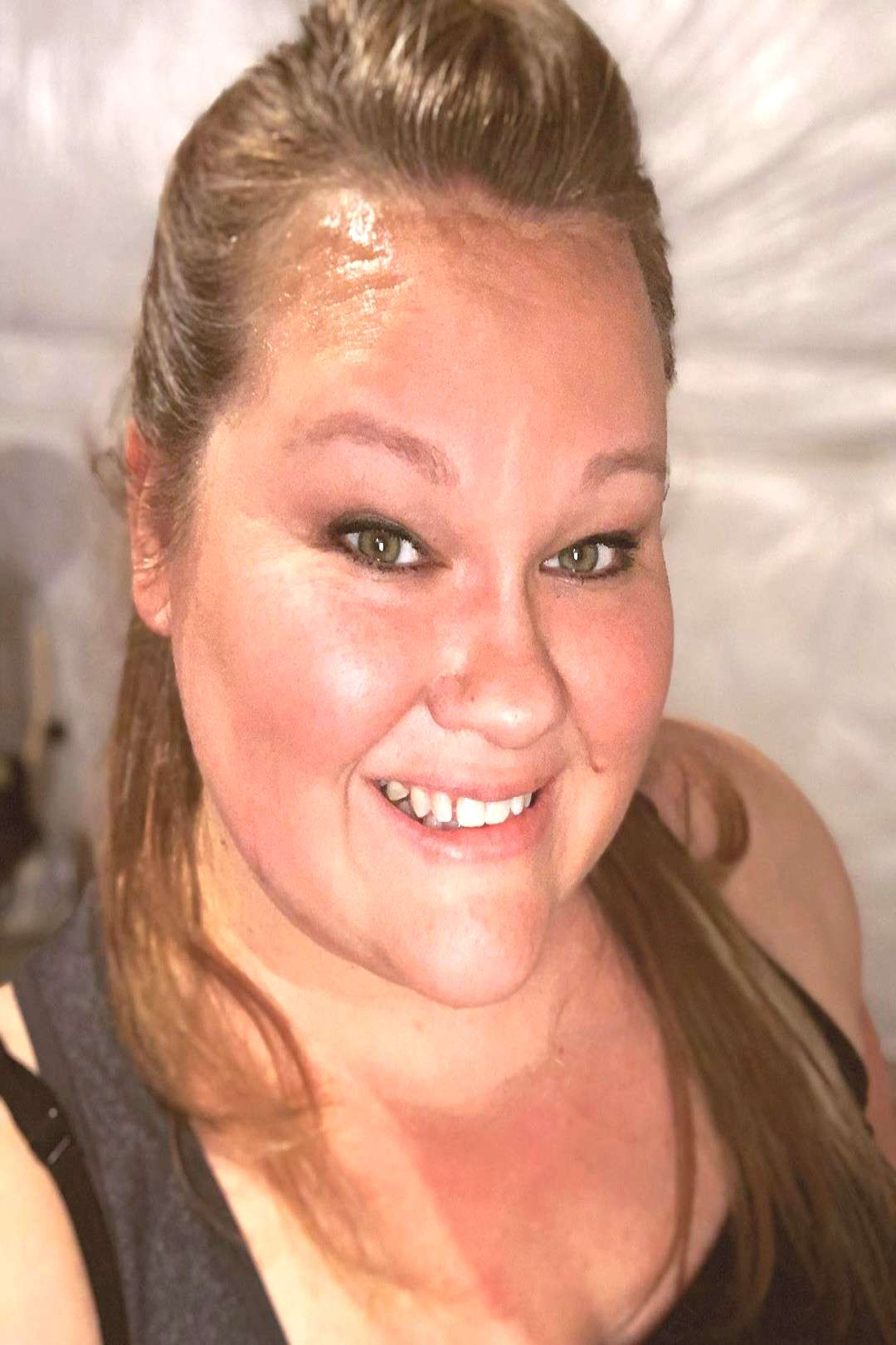 Aprilrocksweightloss on June 03 2020 1 person smiling closeup