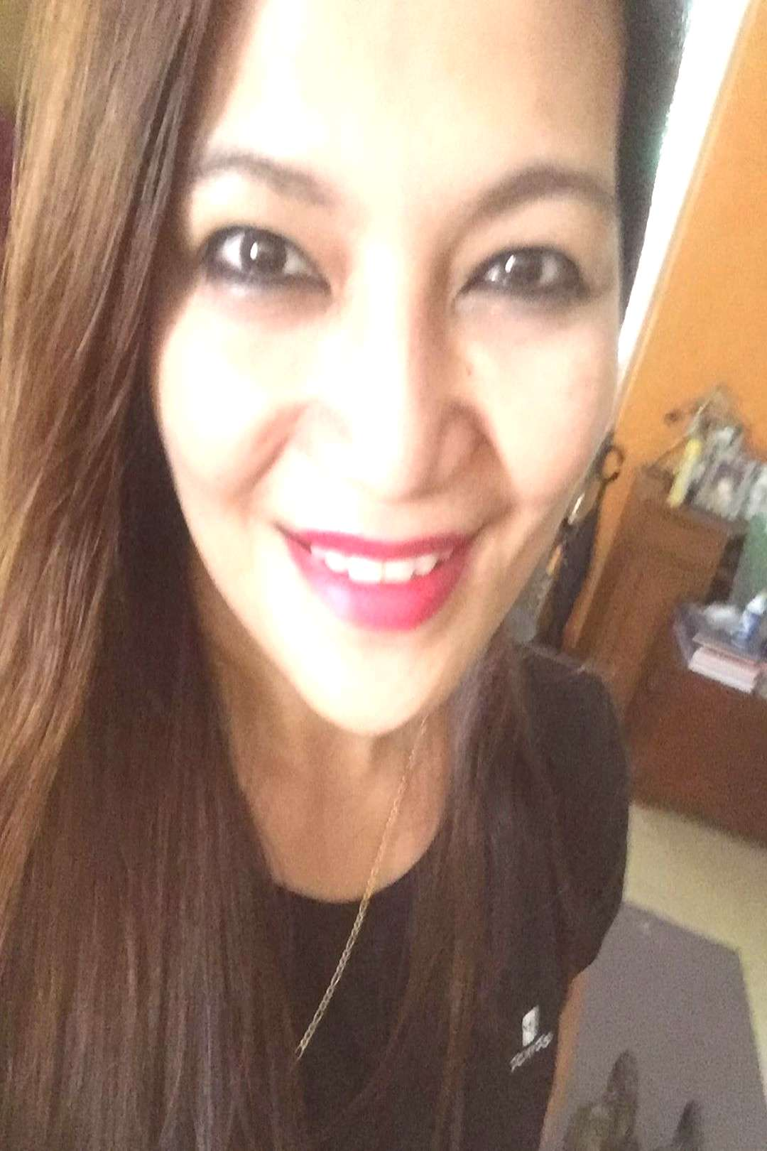 Betsy Ochosa on June 04 2020 1 person smiling selfie and closeup