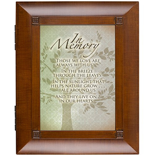 Cottage Garden in Memory Family Tree Woodgrain Remembrance