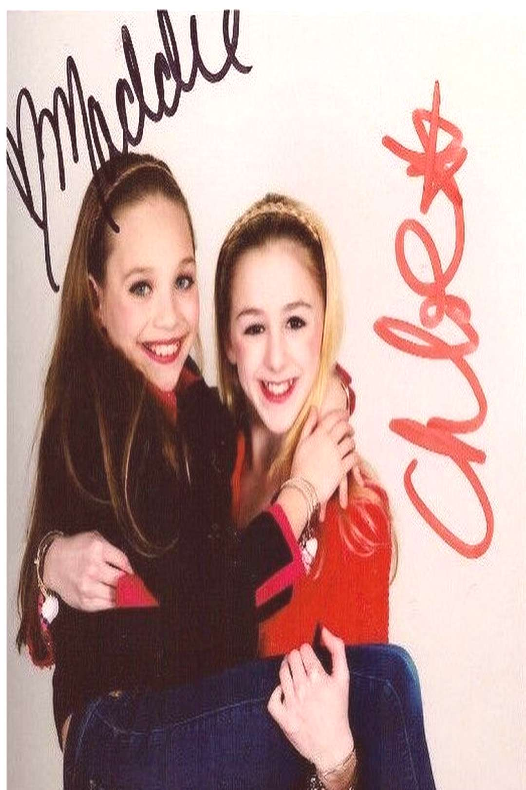 dance moms edits on June 08 2020 and 2 people people smiling