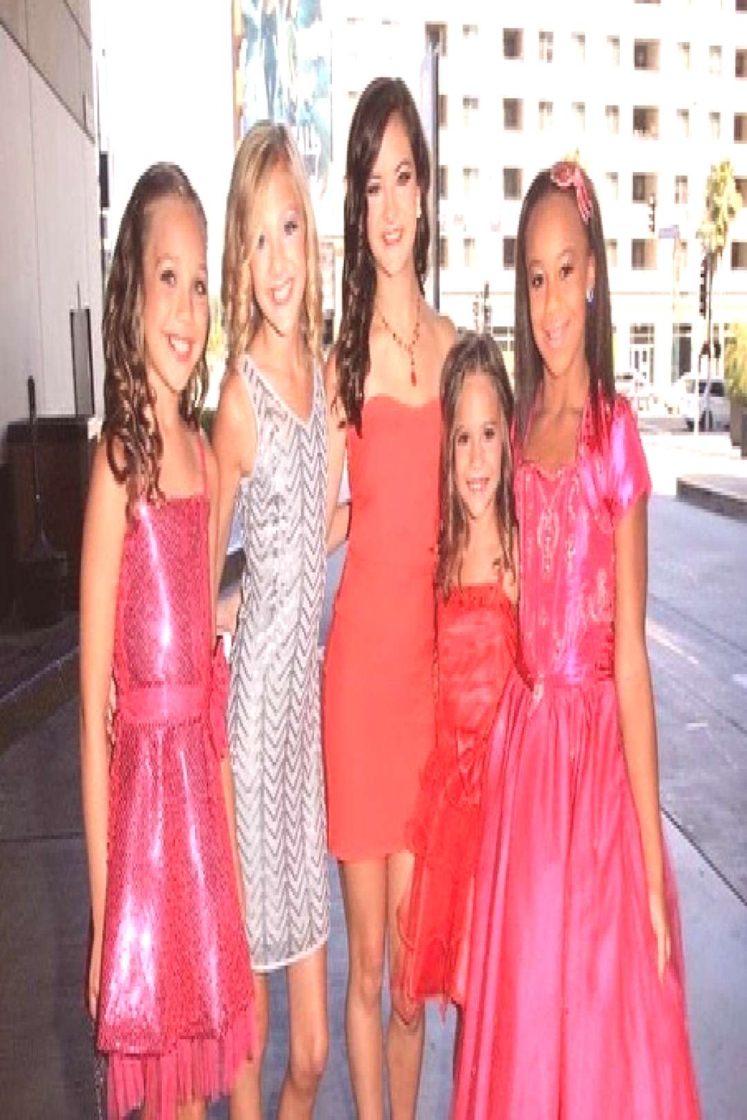 Dance Moms on May 30 2020 and 5 people people standing