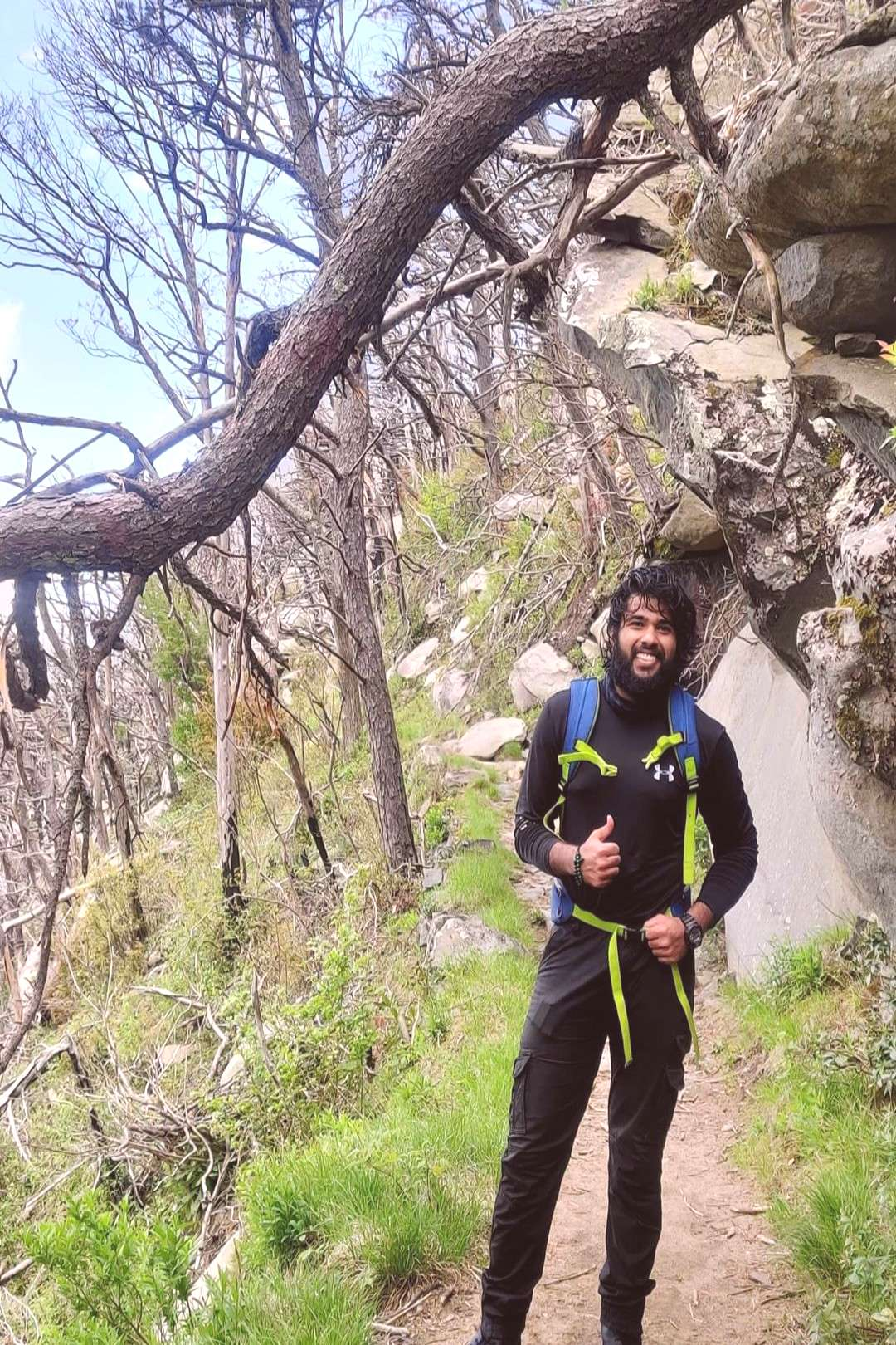 Karthik Reddy on June 01 2020 1 person standing tree outdoor and