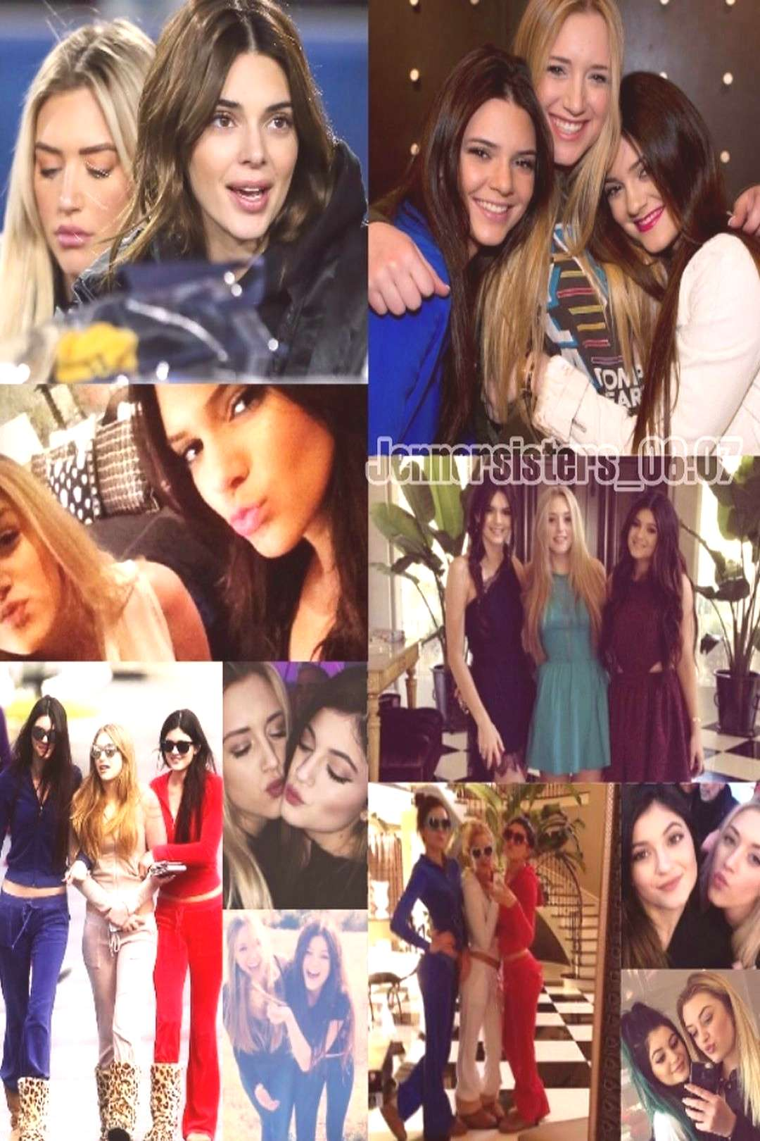 Kendall and Kylie Fan Edits on June 09 2020 and 19 people child