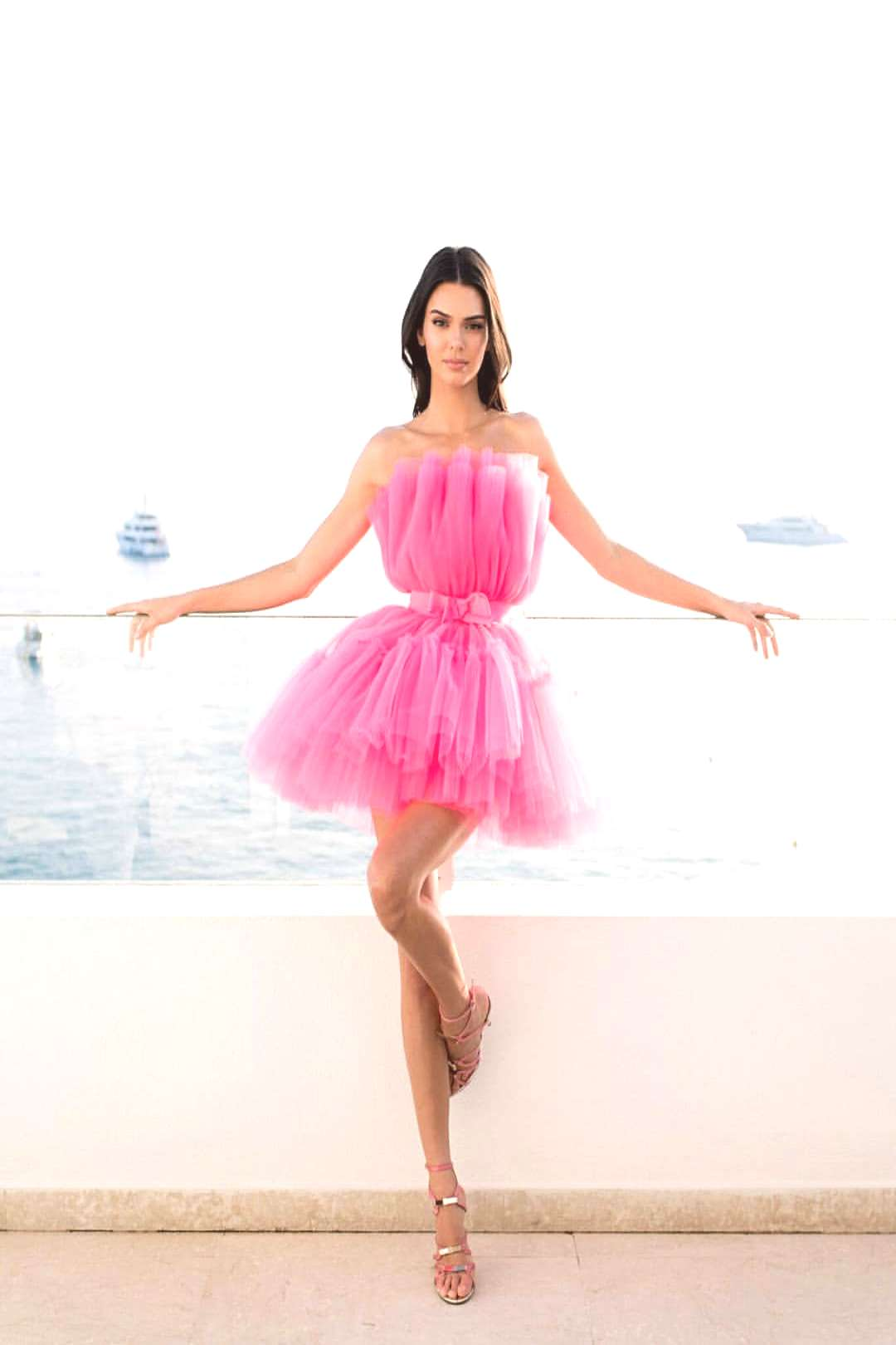 kendall on May 30 2020 and 1 person standing ocean and shoes