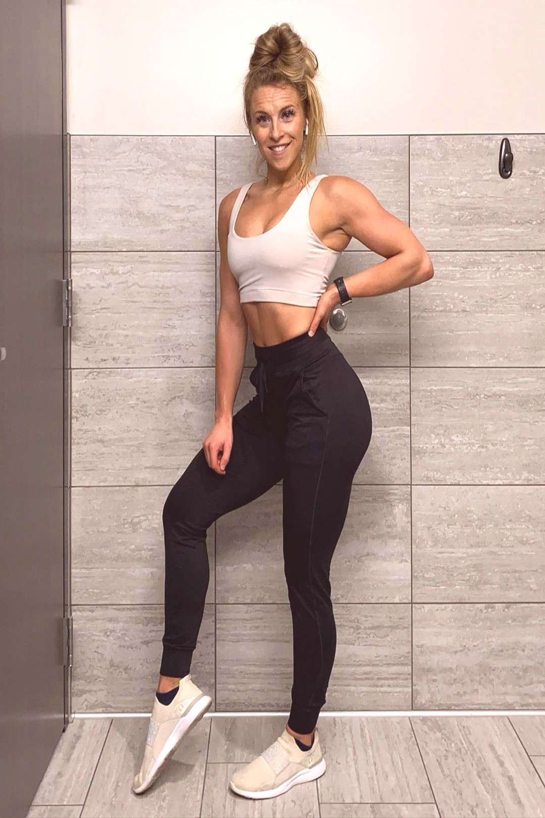Liv Fit LLC by Olivia Ingledue on June 10 2020 and 1 person stand