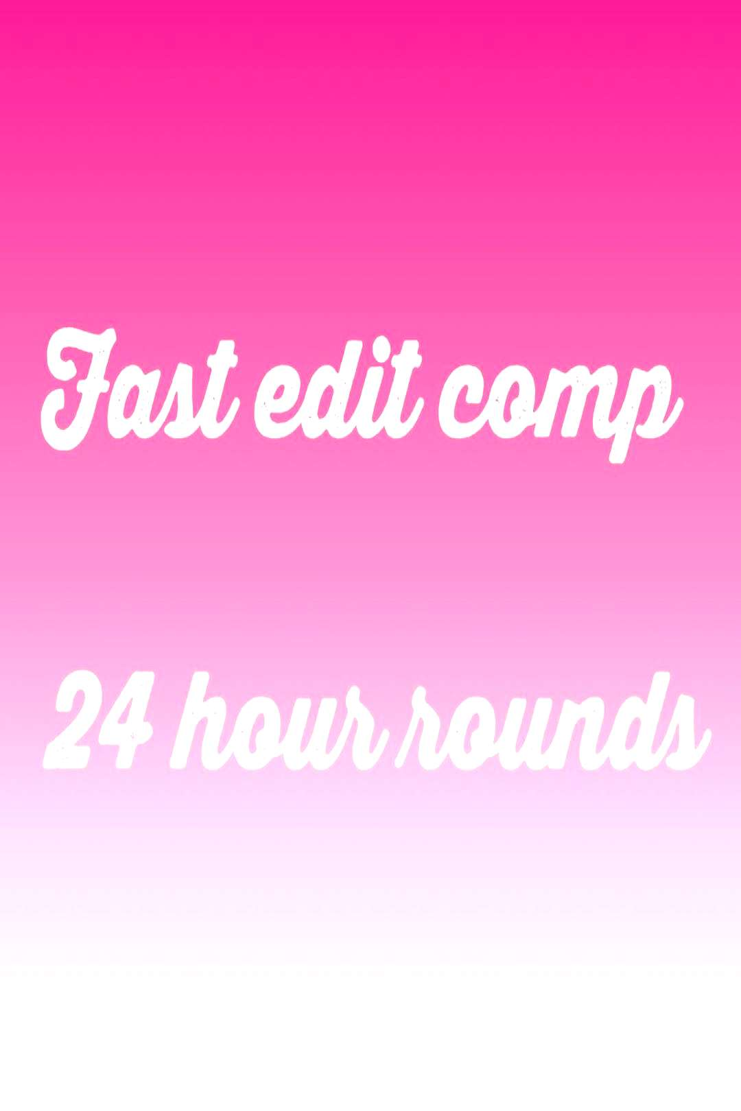 Love The Aldc on June 01 2020 text that says Fast edit comp 24 ho