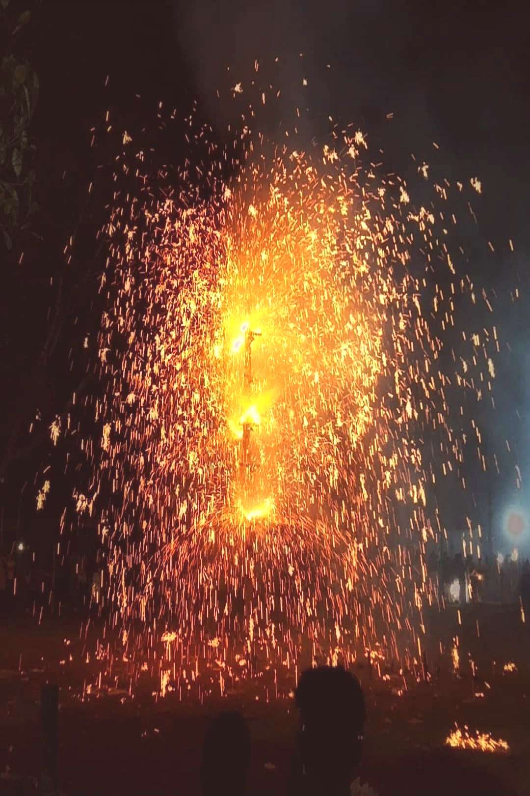Muhammed Sinaj on May 31 2020 night fireworks and outdoor