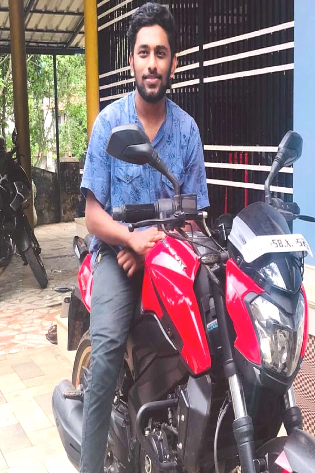 muhammed sinan on June 09 2020 1 person sitting and motorcycle