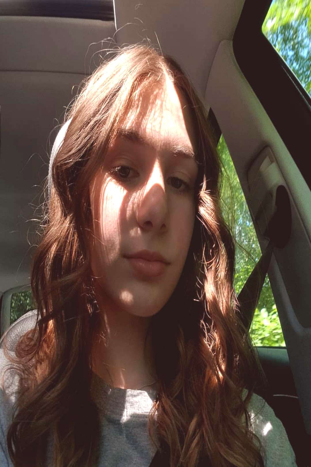 natascha on June 07 2020 1 person selfie and closeup