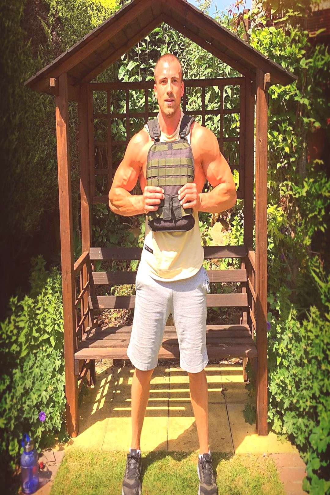 Oliver Bates Fitness Trainer on June 03 2020 1 person standing tr