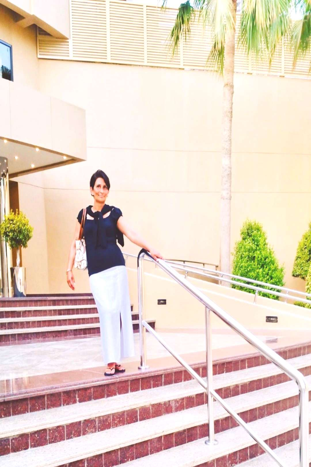 Preeti Singh on June 07 2020 1 person standing shoes and outdoor