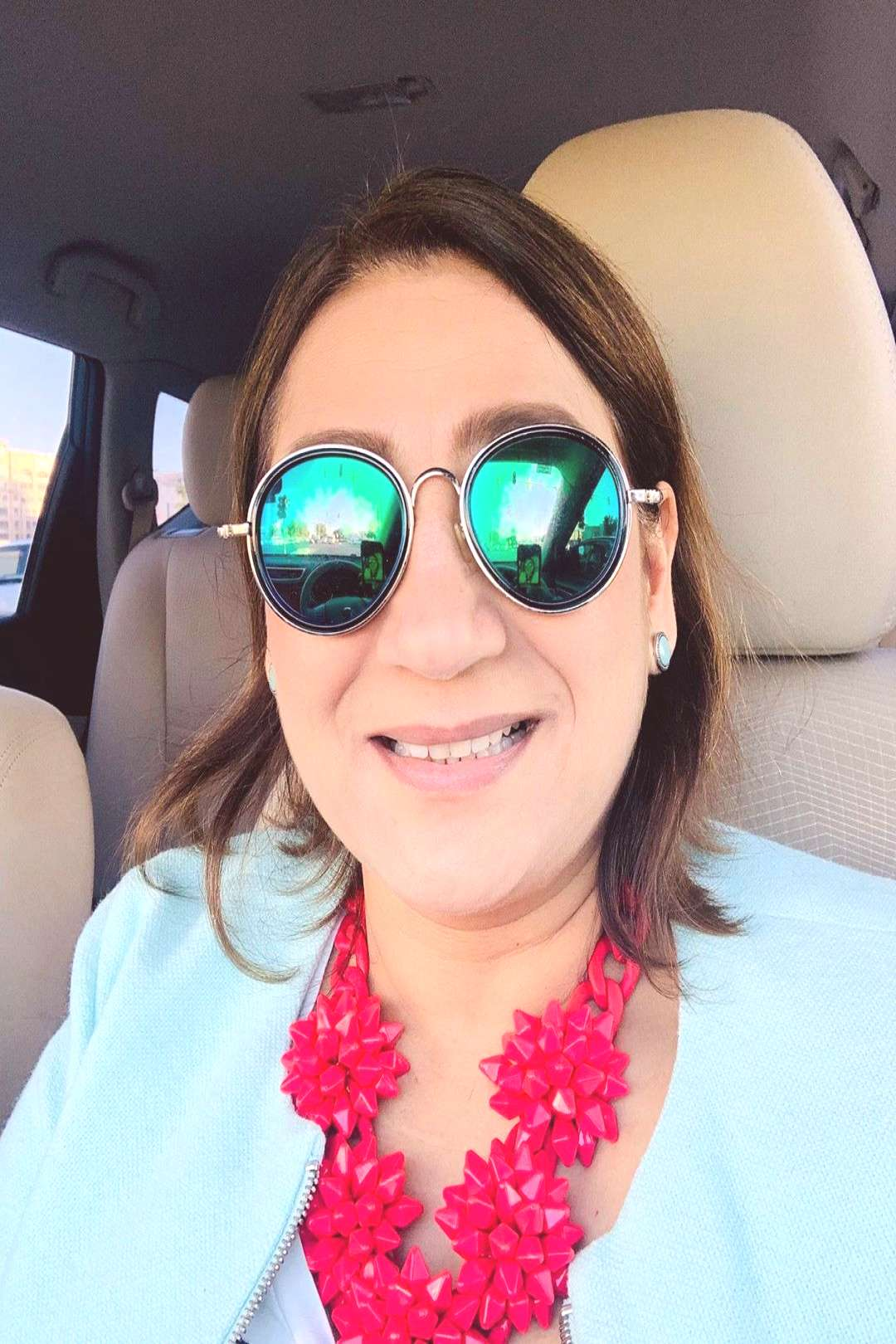 Ritu Chaturvedi on June 02 2020 1 person sunglasses and closeup