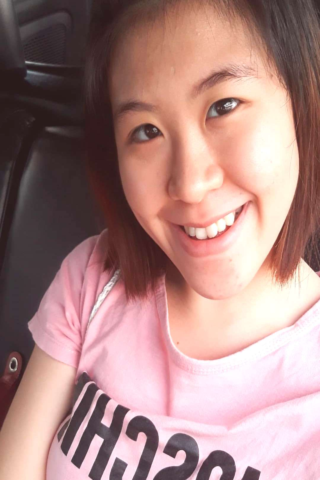 Sheren Sutanto on June 02 2020 1 person selfie and closeup