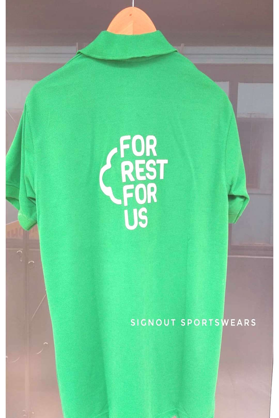 Signout Sportswear on June 09 2020 text that says FOR REST FOR US