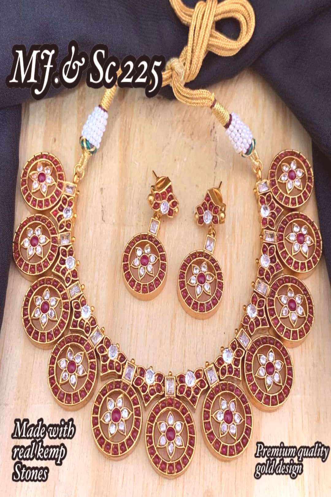 SK Bridal Jewellery JSV on June 10 2020