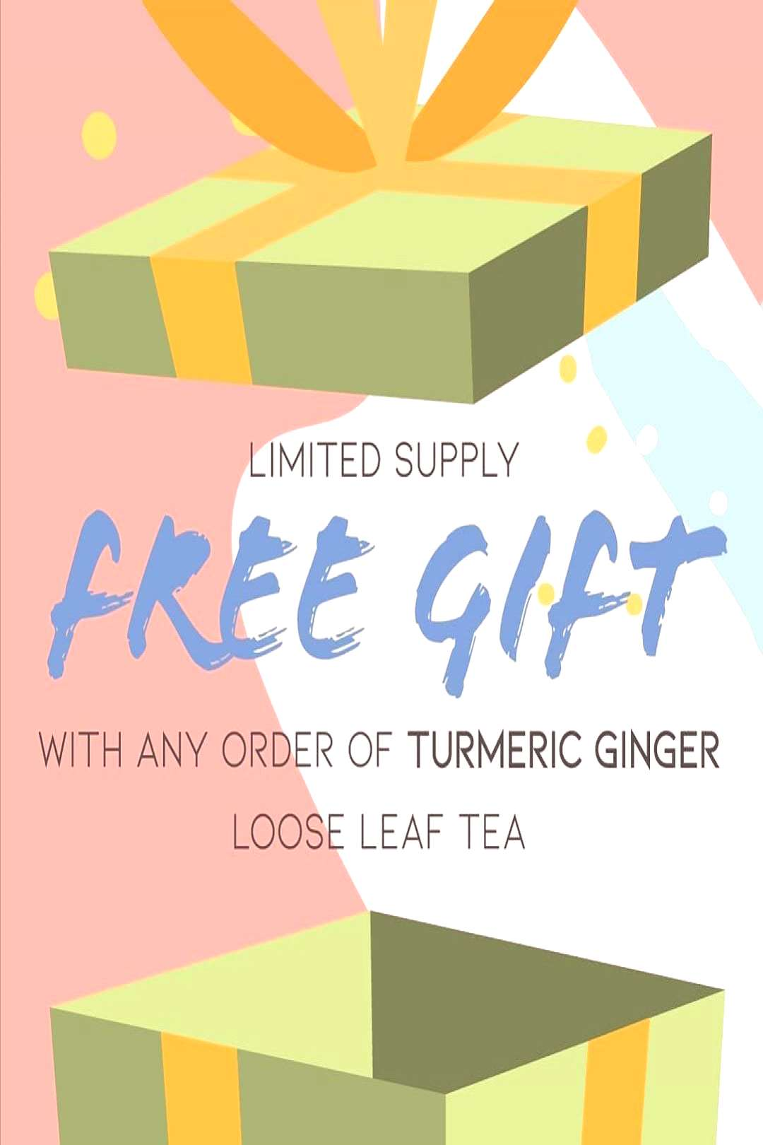 staywoketea on May 31 2020 text that says LIMITED SUPPLY FREE GIF