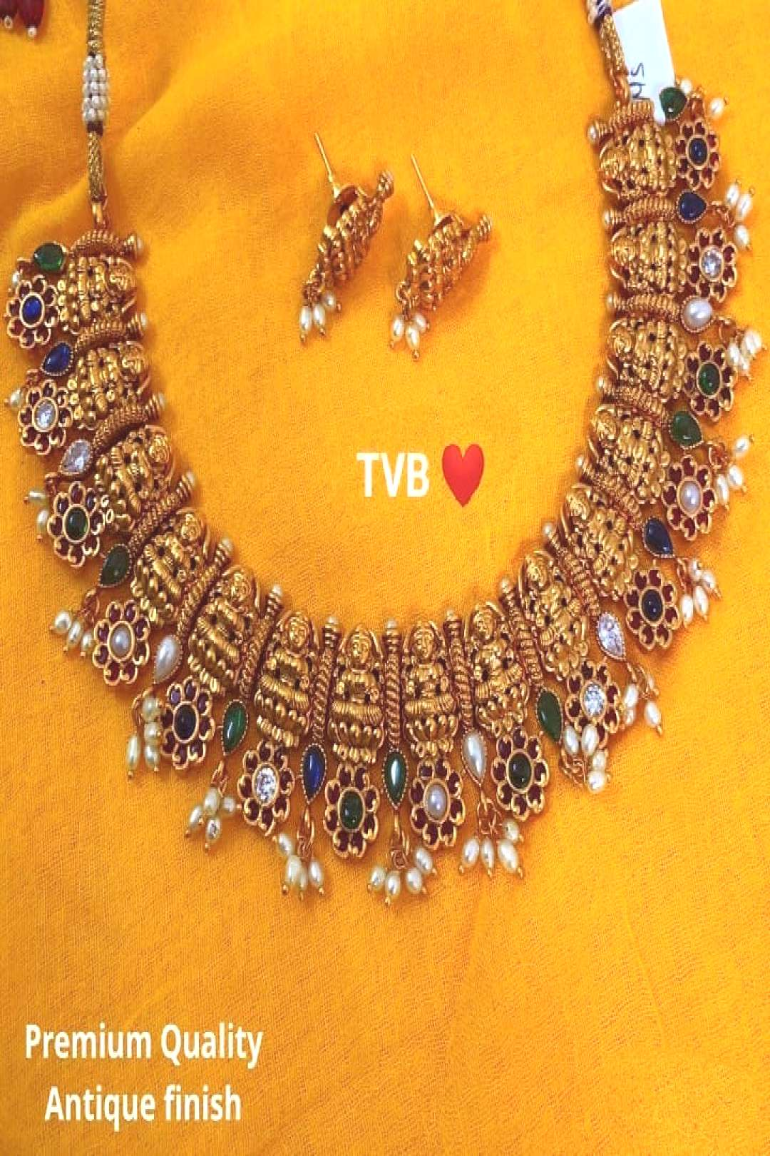 THE VELVET BOX on June 01 2020 jewelry text that says TVB Premium